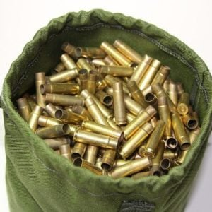 Buy Brass Bag from Cole-TAC | The easiest way to organize your spent brass casings | Available in various colors | Custom, hand-made, high quality